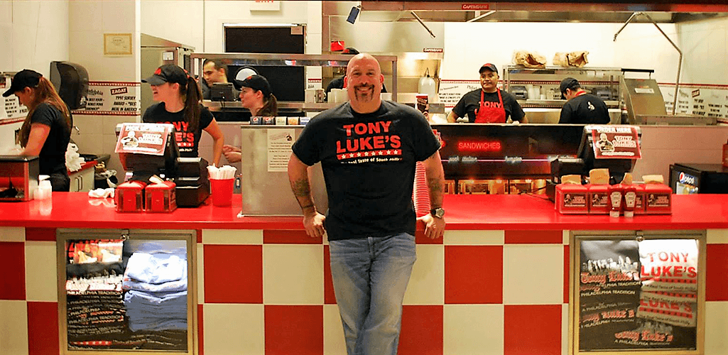 Tony Luke Jr. Is bringing his world famous Philly cheesesteaks and old Philly style sandwiches back to Gloucester County.