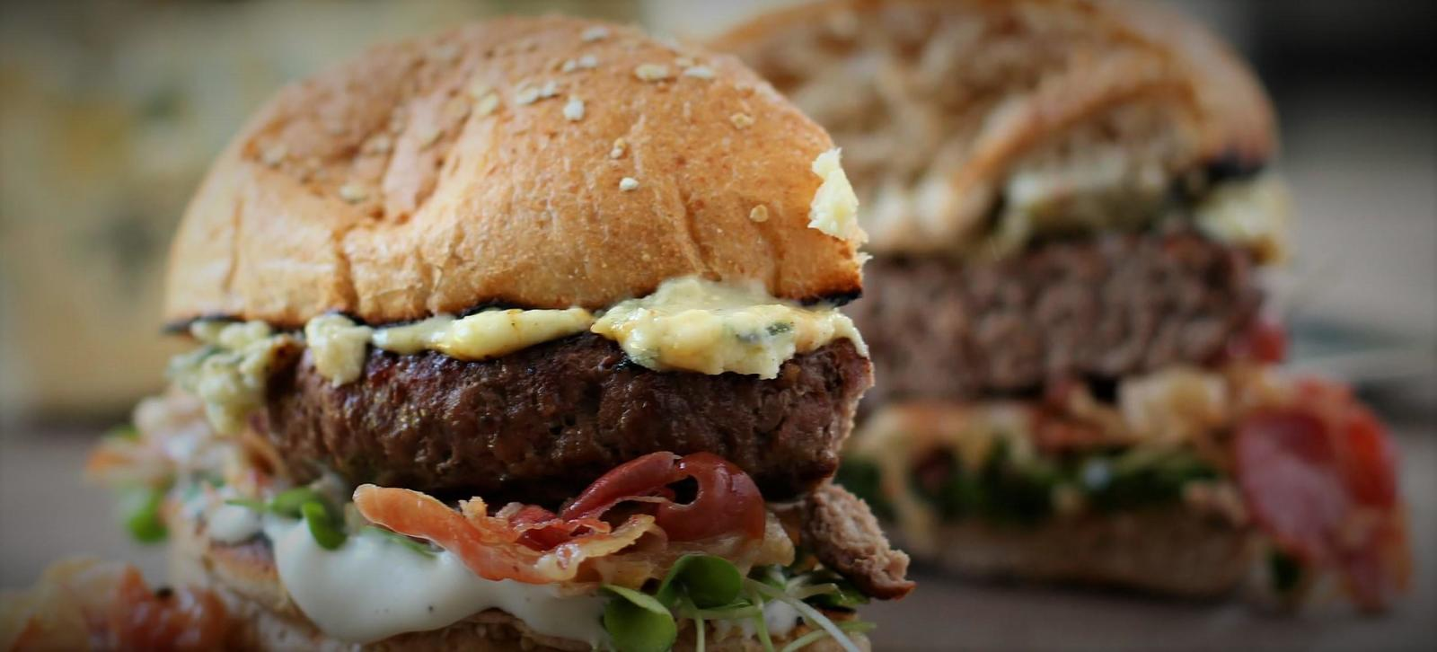Burgers 101: Bleu Cheese Burger