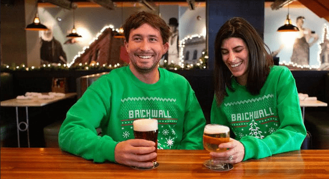 Ugly Sweater Holiday Party at Brickwall Tavern