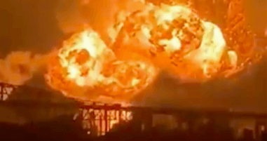 Massive Explosions at Southwest Philadelphia Refinery