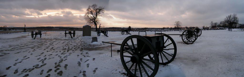 Gettysburg Pa A Great Winter Time Get Away