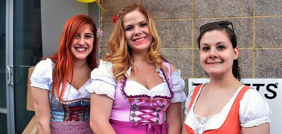 Annual Maifest by Brauhaus Schmitz on South Street