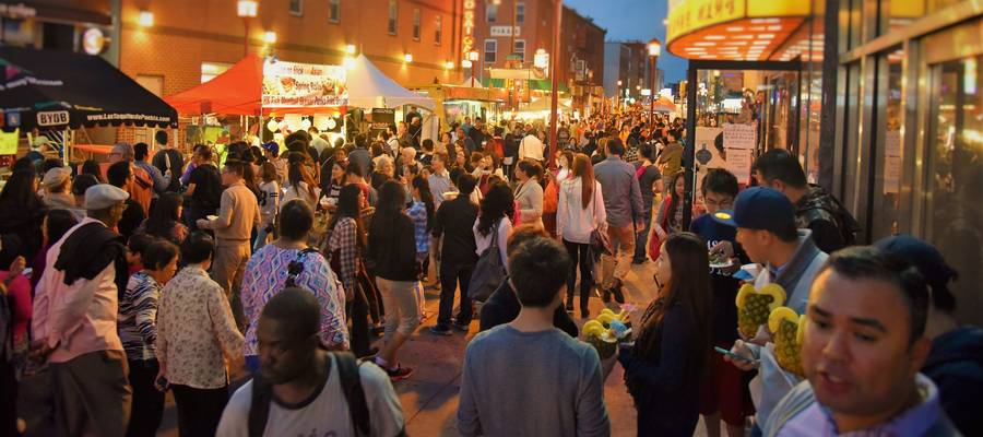 Philly's Yè Shì the Sixth Chinatown Night Market Event