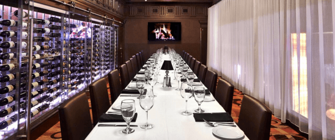 Ocean Prime is typically closed for lunch. However, starting today, the modern American restaurant and lounge will be taking private dining reservations for mid-day holiday parties.