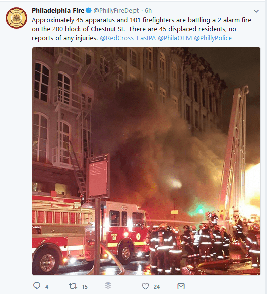 Old City Fire