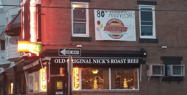Old Original Nick's Roast Beef South Philly