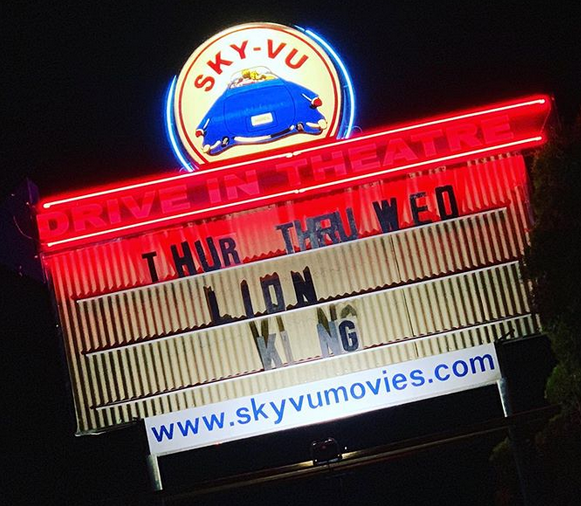 SkyVu Drive In Movie Theater
