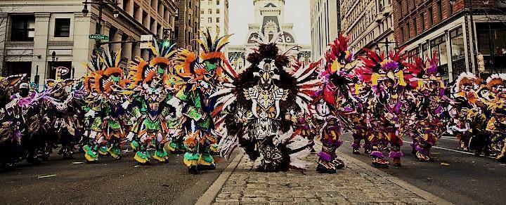 Philadelphia Restrictions and Road Closures: 2017 Mummers Parade