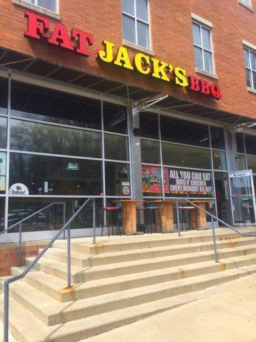 Fat Jacks Outside