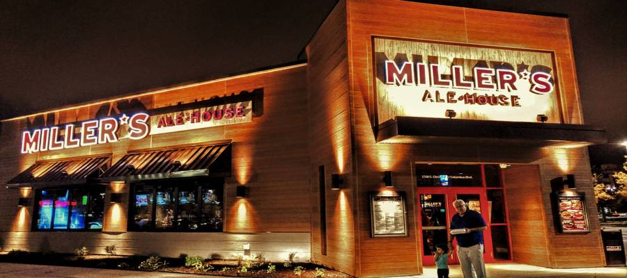 Miller's Ale House has opened on Columbus Boulevard in South Philly, in the former location left vacant by Champ's Restaurant & Bar two years ago. Construction is now complete and doors are open at 2100 S Columbus BLVD, Market East location across from Lowe's and next to Longhorn's Steak House. The new location is the second in Philadelphia and the fifth to open in Pennsylvania.