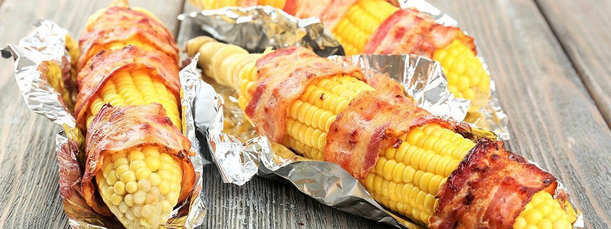 BBQ 101: Bacon Wrapped Corn on The Cob | PhillyBite.com