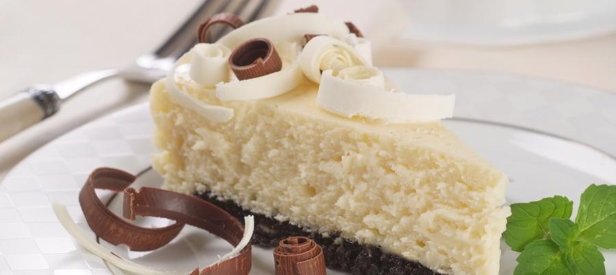 Desert 101: Simple Tuxedo Cheesecake Recipe