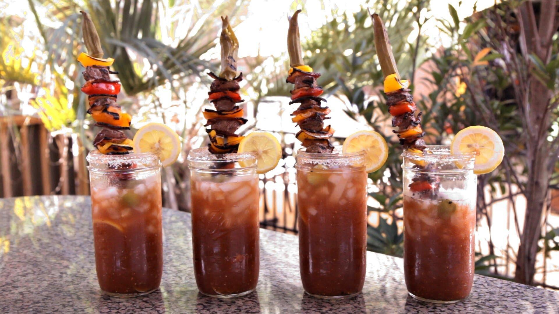 Philly Cheesesteak Bloody Mary Recipe