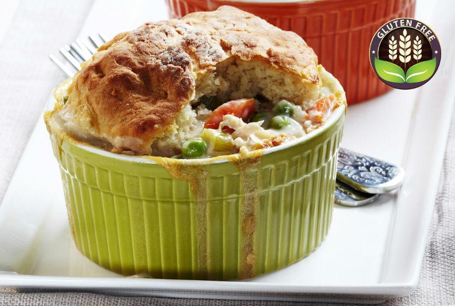 How to Make a Lighter Chicken Pot Pie