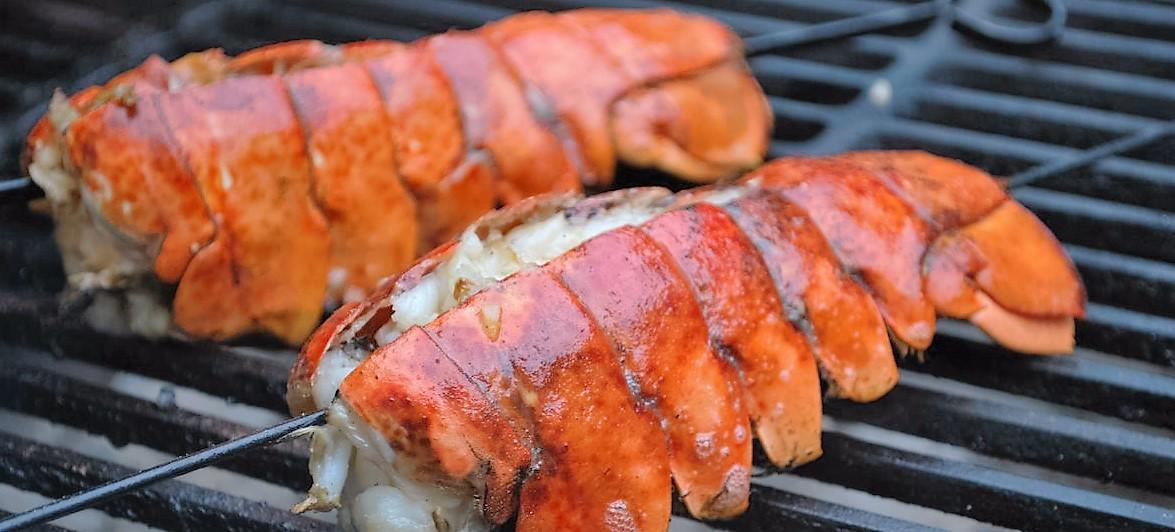 How to Grill a Lobster Tails on The BBQ