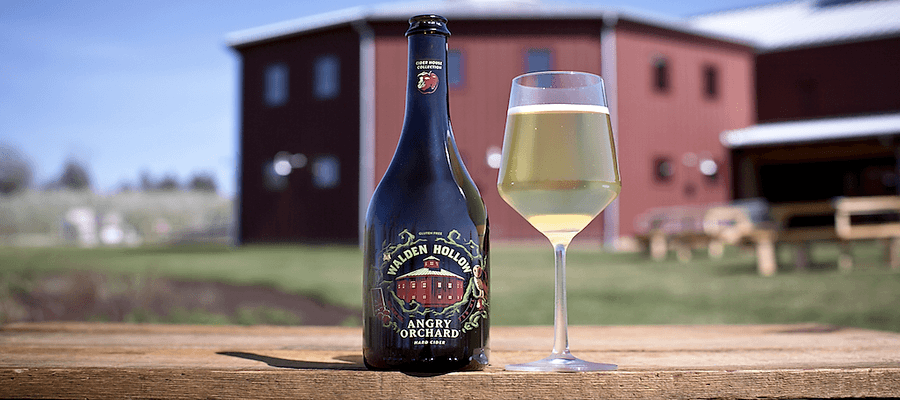 Angry Orchard's New Hard Cider Walden Hollow