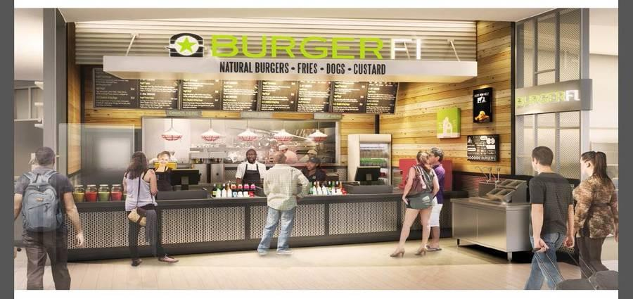 BurgerFi Opening at Temple University's Food Court