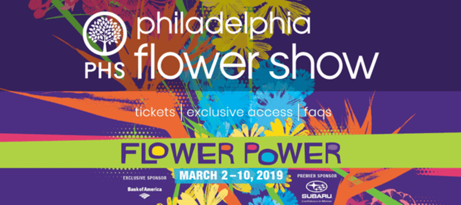 The 2019 Philadelphia Flower Show - 60's Flower Power