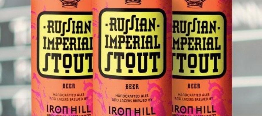 Iron Hill Brewery: Russian Imperial Stout Now in Cans