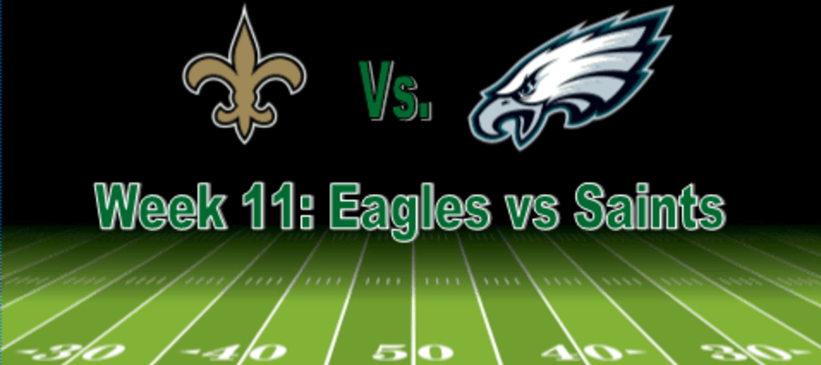 Week 11: Philadelphia Eagles Vs New Orleans Saints