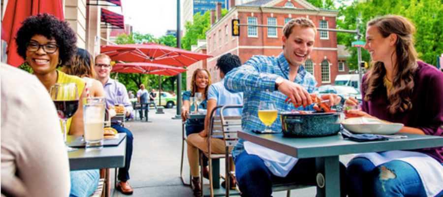 The Best Outdoor Dining in Philly
