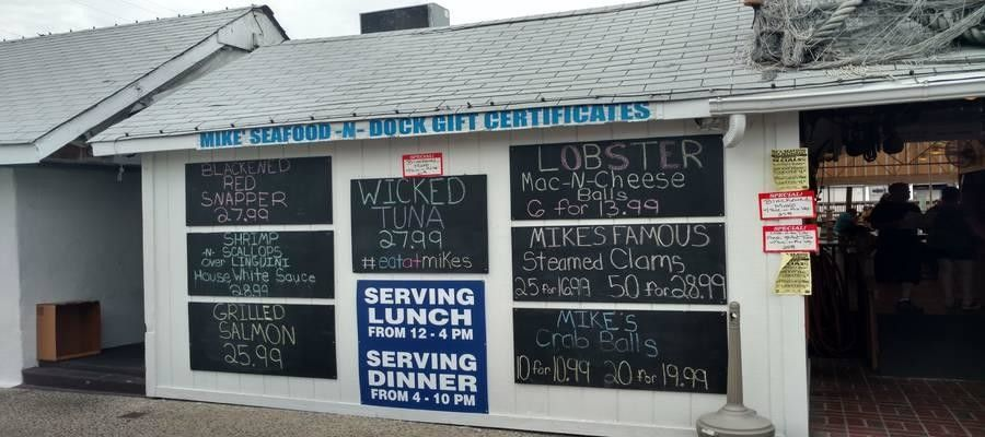 Best Jersey Shore Seafood Shacks