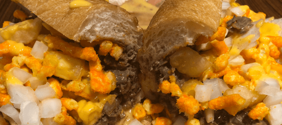 The Gritty Cheesesteak at Joe's Steaks & Soda Shop