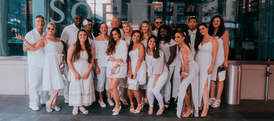 Sofitel and Dîner en Blanc Offers 'Sofitel en Blanc' Packages