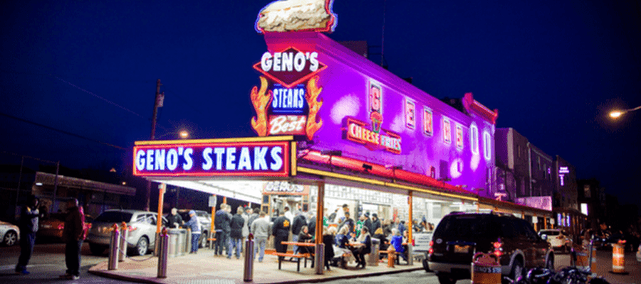Geno's Steaks Joins With Uber Eats