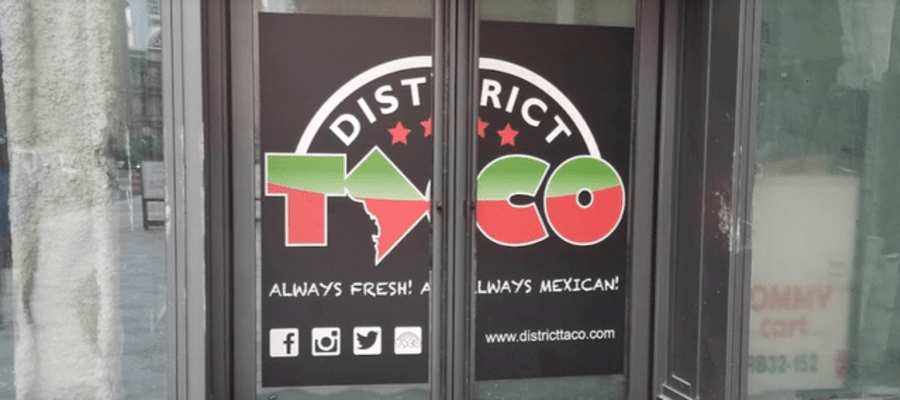 District Taco Center City Philadelphia