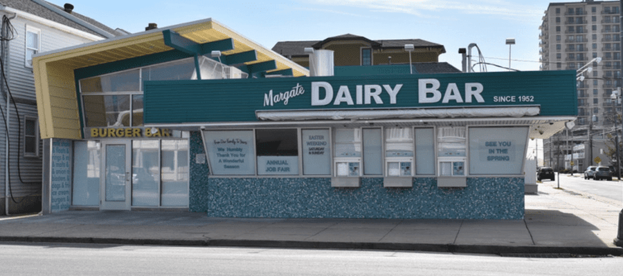 Margate Dairy Bar & Burger Renovations