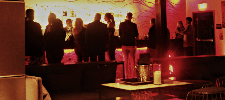 Elevate your night out at the Stratus Rooftop Lounge