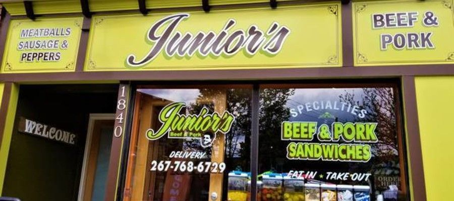 Juniors Beef and Pork on East Passyunk