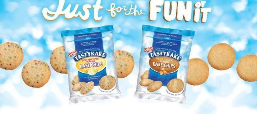 Snack cake brand Tastykake is thrilled to introduce Kake Chips, a new product that combines the crunch of a chip with the sweetness of cake