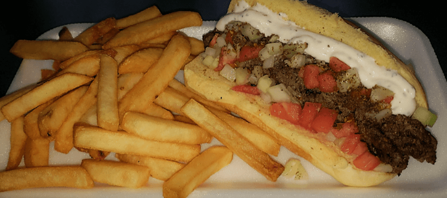 Philly's Lebanese Kafta Dog and Middle Eastern Hamburger
