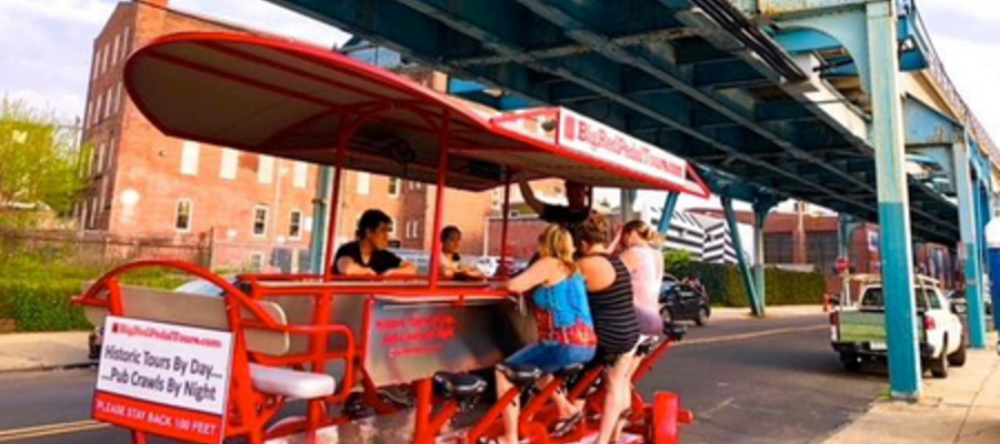 Big Red Pedal Tours Launches Pub Crawl of Fishtown