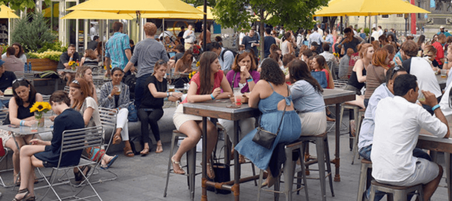 Center City District SIPS at Dilworth Park Café  | PhillyBite Magazine