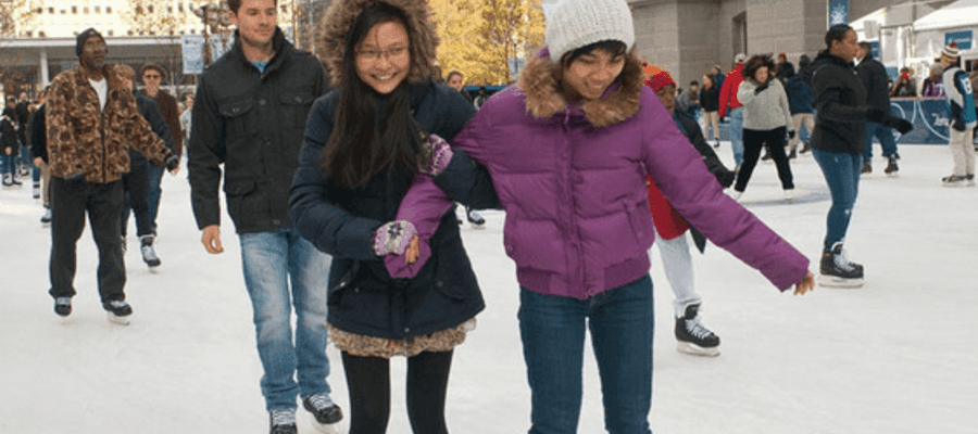 Winter Traditions Continue Safely at Dilworth Park