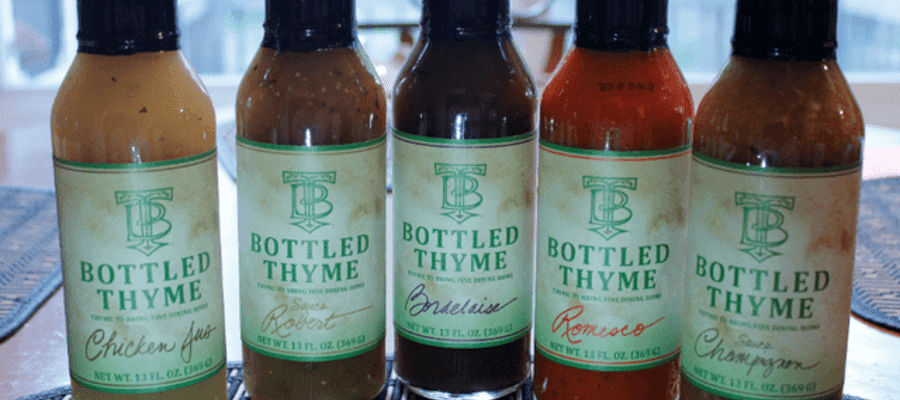 Chef Van Houten's Bordelaise Sauce - Bottled Thyme