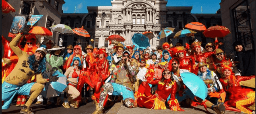 Pop-Up Mummers Masquerade