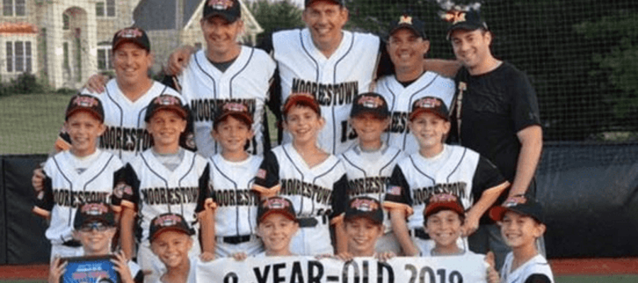 Moorestown 8U Baseball Team Captures State Title