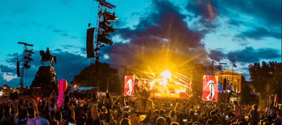 2018 Made in America Festival Road Closures