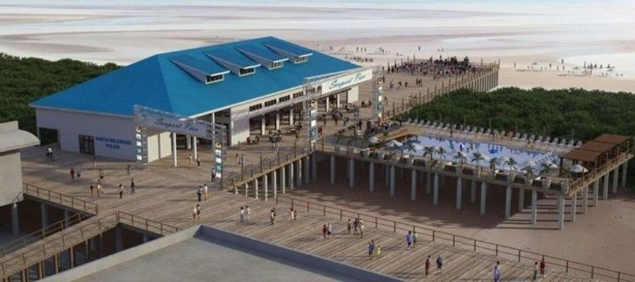 Seaport Pier Reopening on North Wildwood Boardwalk