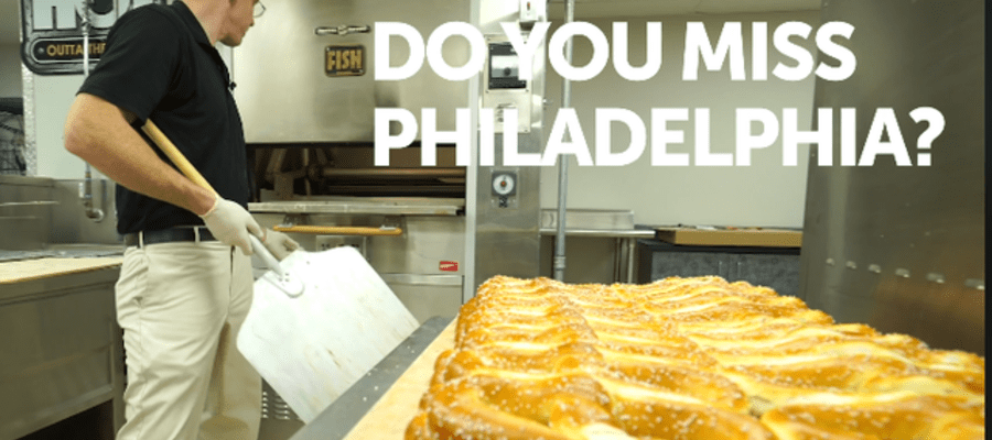 """Homesick for Philly"" Get A Free Pretzel on Dec 19"