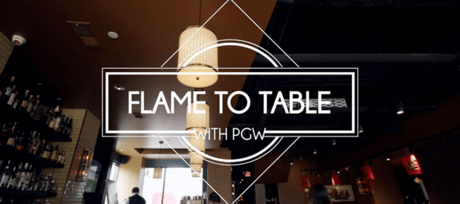 PGW Presents Flame To Table Series