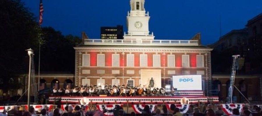 Philly Pops: Patriotic Concert at Independence Hall.