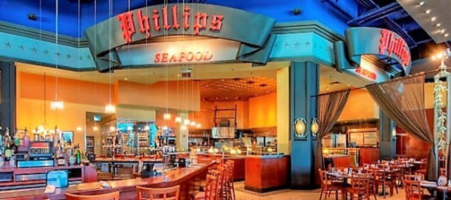 Phillips Seafood at Atlantic City's Playground at Caesar's