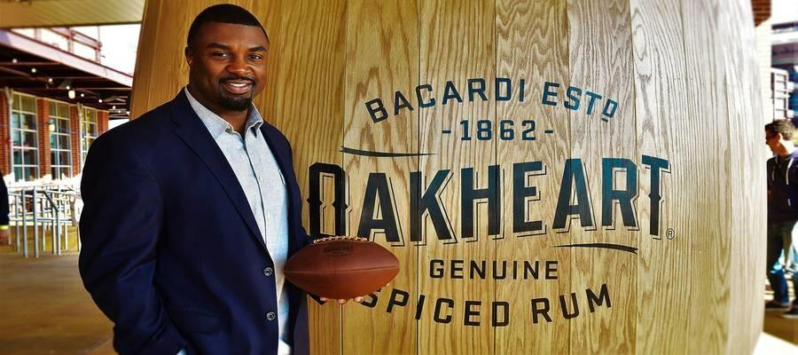 OAKHEART Genuine Spiced Rum & Brian Westbrook