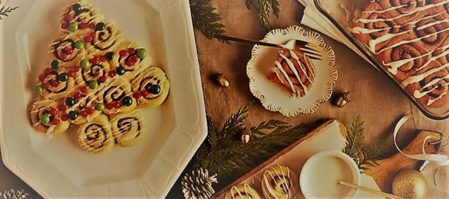 Cinnamon Roll Christmas Trees - These are easy to make ahead. You have two choices: you can make the dough and chill up to 2 days, then shape, let rise and bake, as described in the recipe, OR you can make the dough