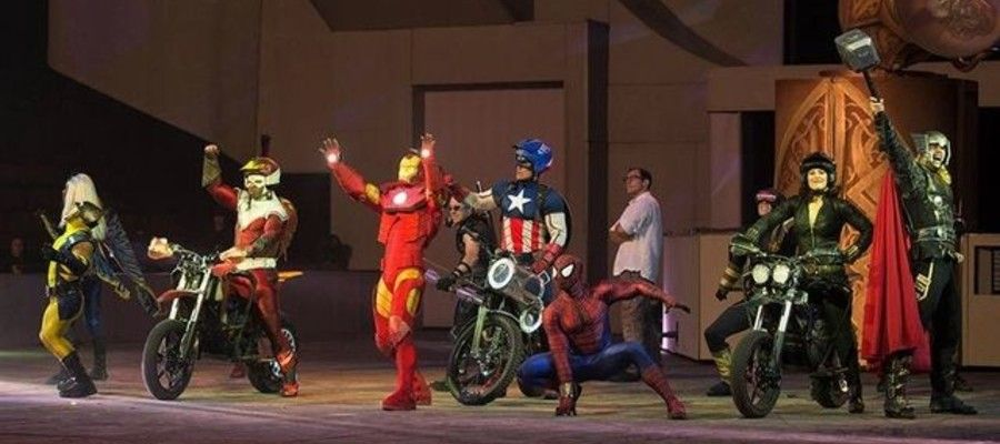 Marvels Universe Live Takes Over The Wells Fargo Center